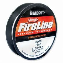 Fireline Beading Thread Crystal 6lb - 50 Yards